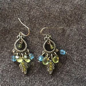 Jewelry - Vintage Silver Dangle Earrings